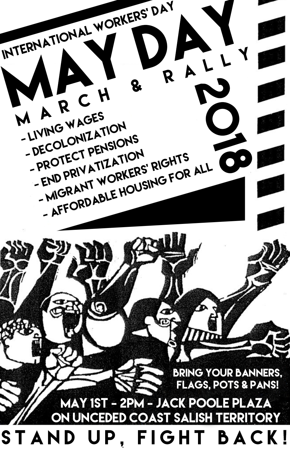 May Day March and Rally – May 1