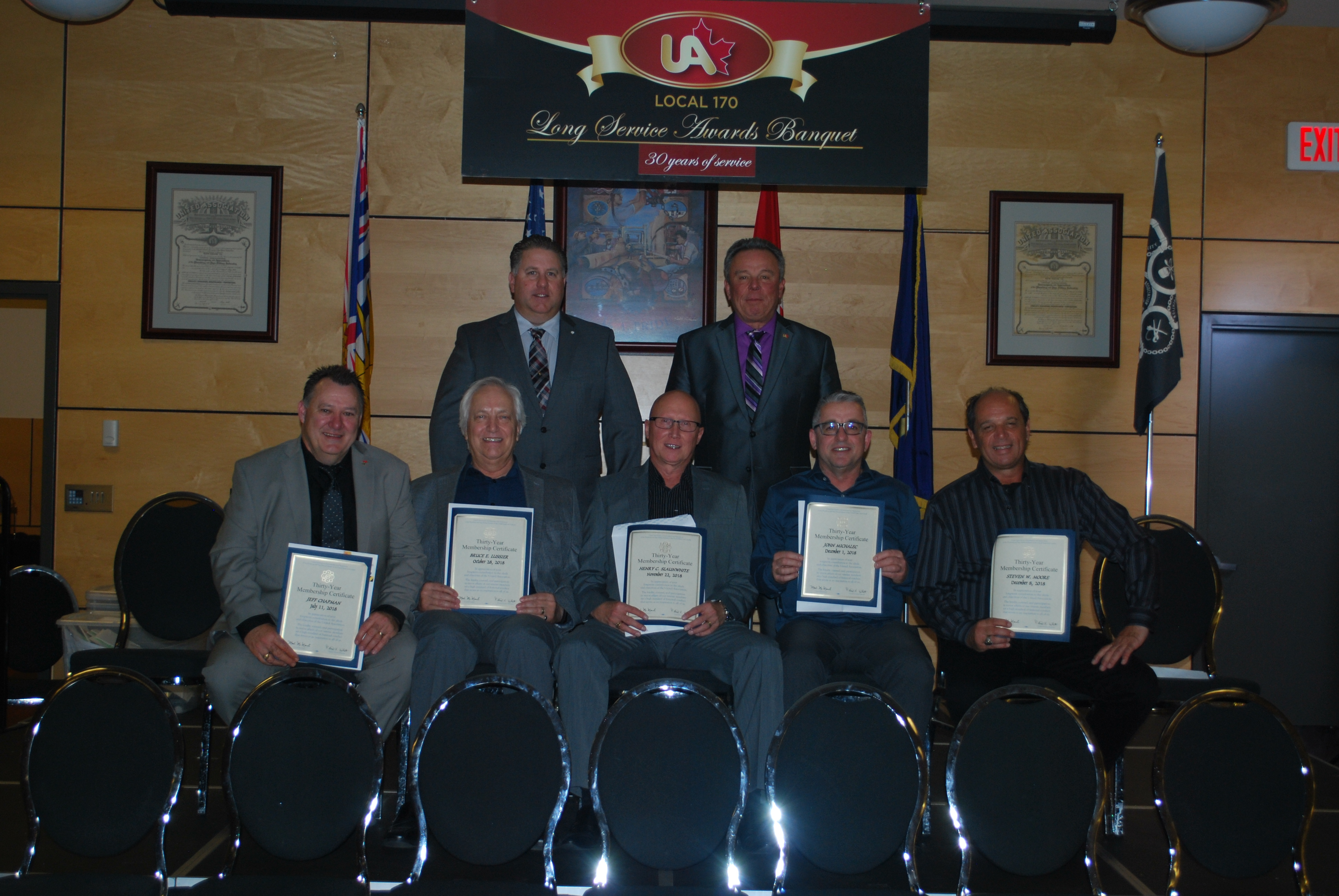 Congratulations to our Long Service Members