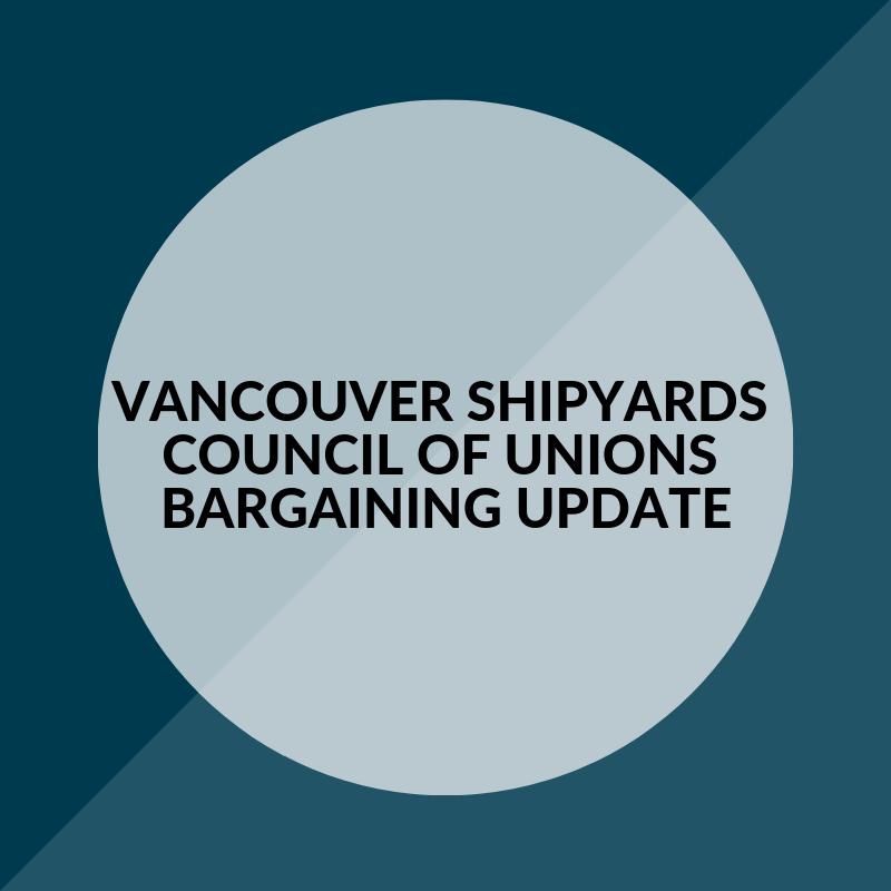 VSY Bargaining Update