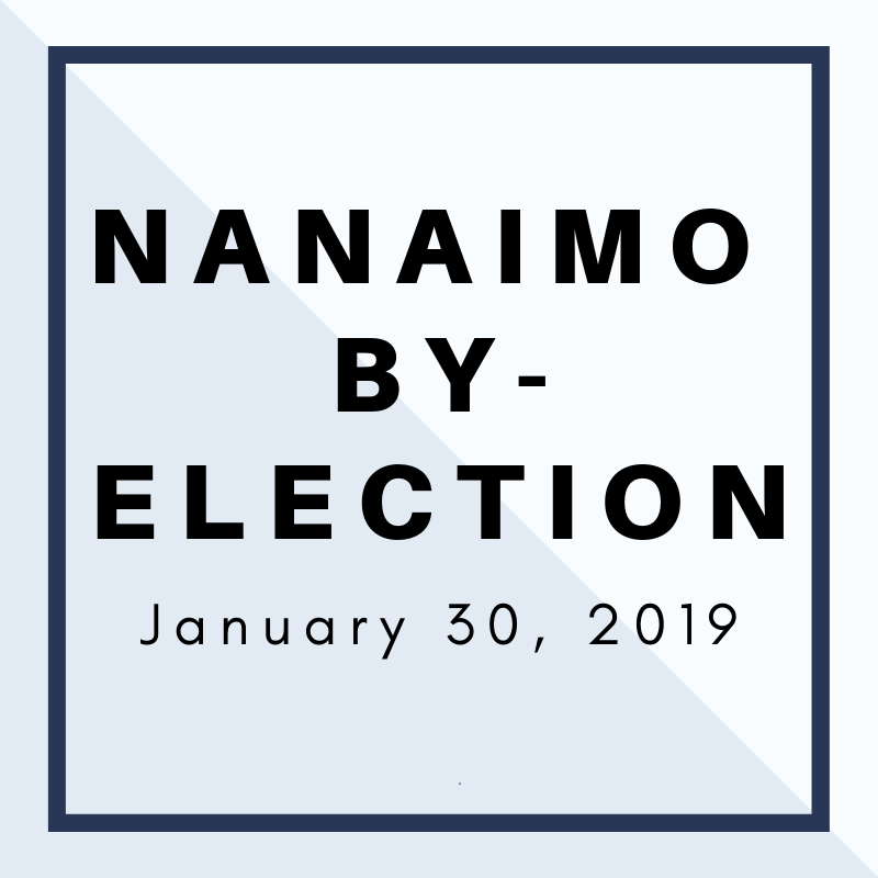 Nanaimo By-Election January 30, 2019