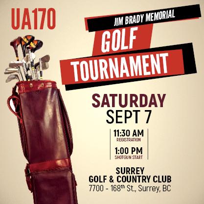 Local 170 Annual Jim Brady Memorial Golf Tournament