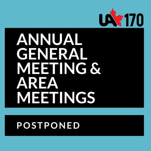 AGM & AREA MEETINGS POSTPONED